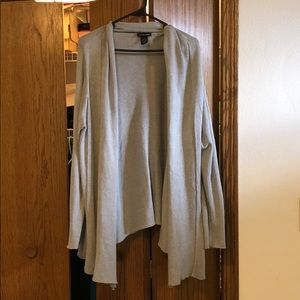 Gray cardigan from Lane Bryant